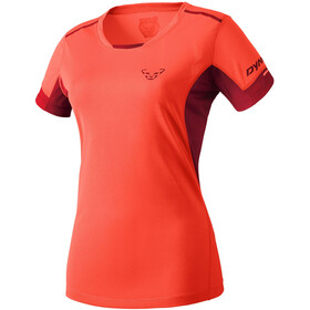 Dynafit W's Vertical 2 SS Tee fluo coral